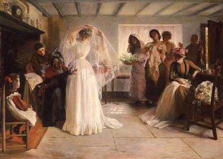 John_Henry_Frederick_Bacon_-_The_wedding_morning